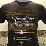 I spread love with kindness