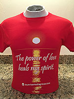 The power of love heals my spirit