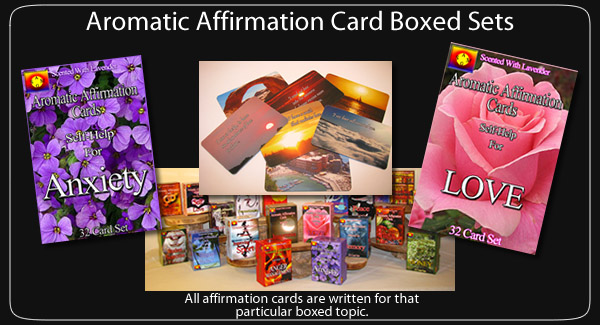 Aromatic Affirmation Cards