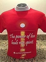 The power of love heals my spirit